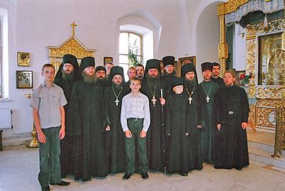 Муромский спасо преображенский мужской монастырь